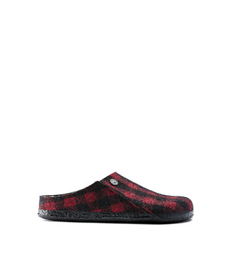 Birkenstock Zermatt Red/Black Plaid