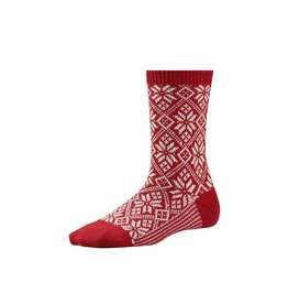 Smartwool SMARTWOOL  TRADITIONAL SNOWFLAKE RED