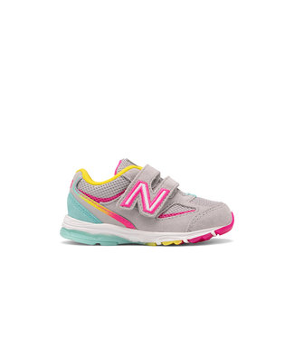 New Balance 888V2  Grey / Rainbow