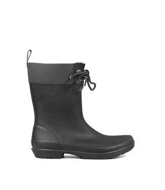 Bogs Flora 2-Eye Boot Black
