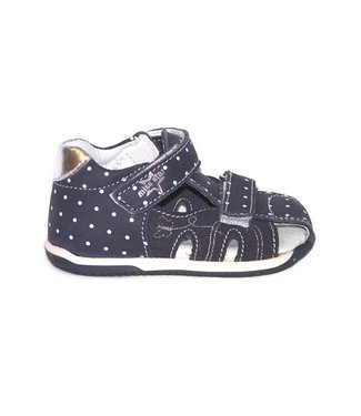 Lil Paolo LIL PAOLO PRALINE 1 NAVY POLKA-DOT