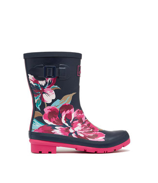 Joules Molly Wellies Navy All Over Floral