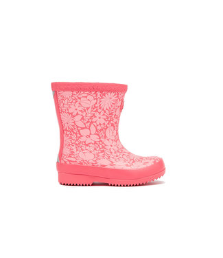 Joules Baby Wellies Red Ditsy Floral