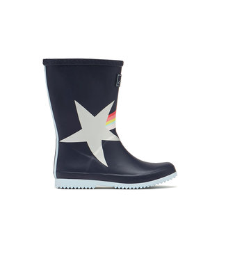 Joules Roll Up Wellies Marine