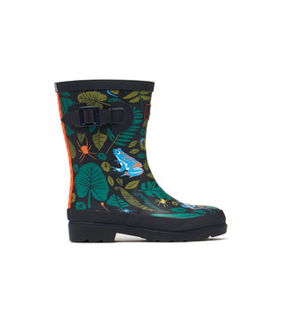 Joules Wellies Green Garden