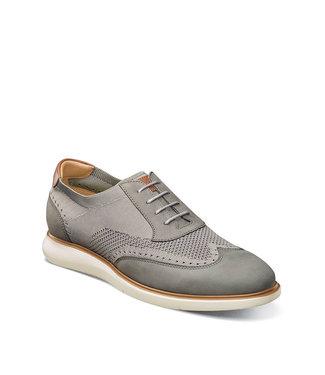 Florsheim Fuel Knit Wingtip Oxford Grey