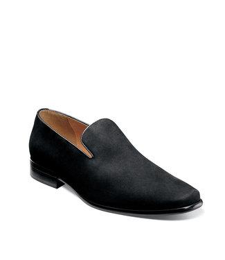 Florsheim Postino Plain Toe Slip On Black