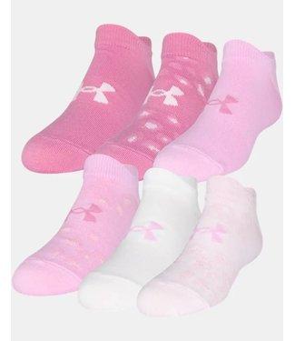 Under Armour Girls' Essential No Show Socks