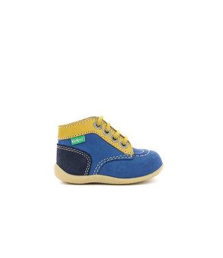 Kickers Bonbon Blue / Yellow