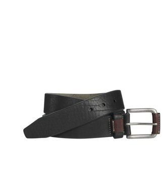 Johnston & Murphy WRAPPED BUCKLE BLACK