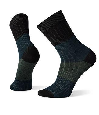 Smartwool Everyday Rib Color Block Crew Socks Black