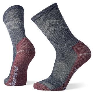 Smartwool Men's Hike Classic Edition Light Cushion Mountain Pattern Crew Socks