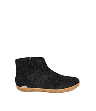 Glerups Boot Rubber sole Charcoal