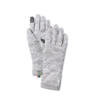Smartwool Merino 250 Pattern Glove Light Grey