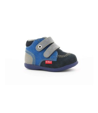 Kickers KICKERS BABYSCRATCH NAVY & ROYAL BLUE