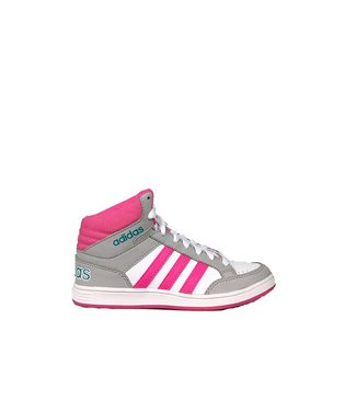 Adidas ADIDAS HOOPS MID K WHITE&PINK