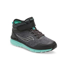 Saucony SAUCONY IDEAL MID BLACK&TURQUOISE