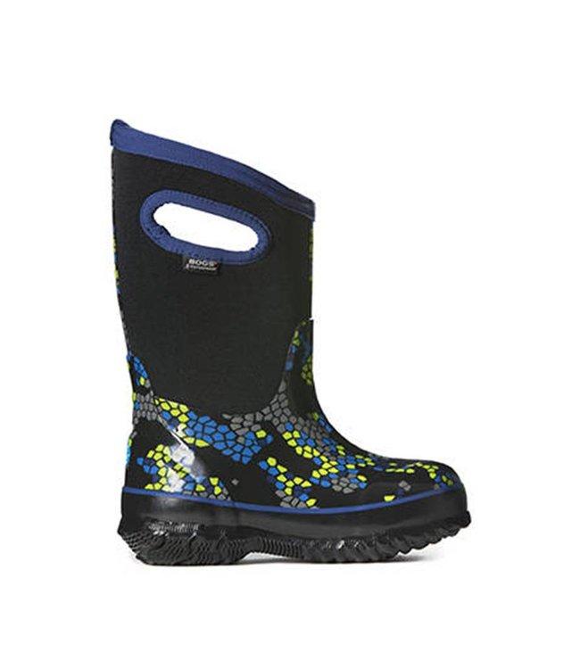 66f8d72b4765a Bogs Classic Axel noir botte d hiver pour enfants