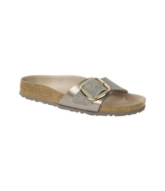 Birkenstock BIRKENSTOCK MADRID BIG BUCKLE BLEU
