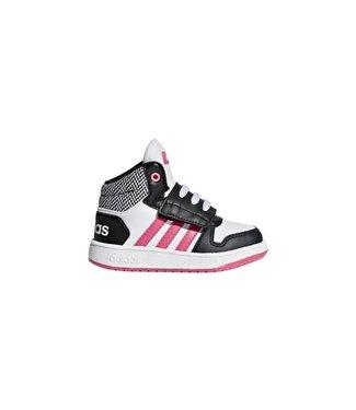 Adidas ADIDAS HOOPS MID 2.0 K BLACK & PINK
