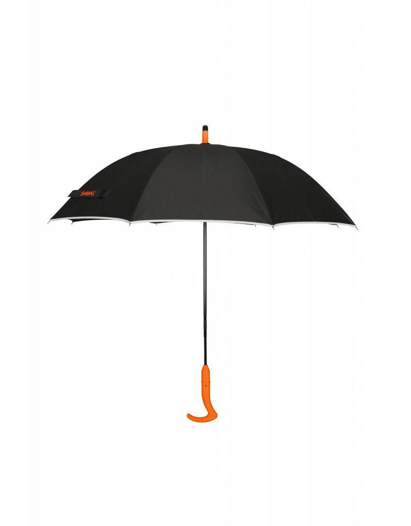 Swims Swims Parapluie Large Noir & Orange PAR1300036