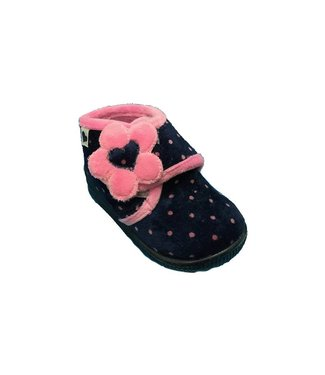 Ani 5501 Heart & Dots Blue & Pink