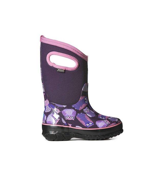 9365412f1379 Bogs Classic Owls Purple | Tony Pappas - Tony Pappas - Footwear store