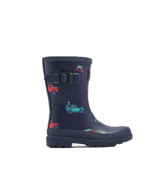 JOULES Joules Wellies  Scout & About Navy