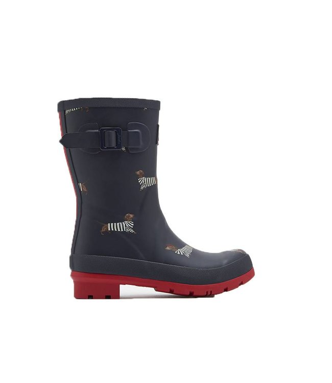 JOULES Joules Femmes Wellies Molly French Daschund Marine