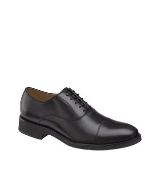 Johnston & Murphy Johnston & Murphy Carlson Cap Toe Black