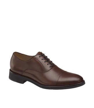 Johnston & Murphy Johnston & Murphy Carlson Cap Toe Oak