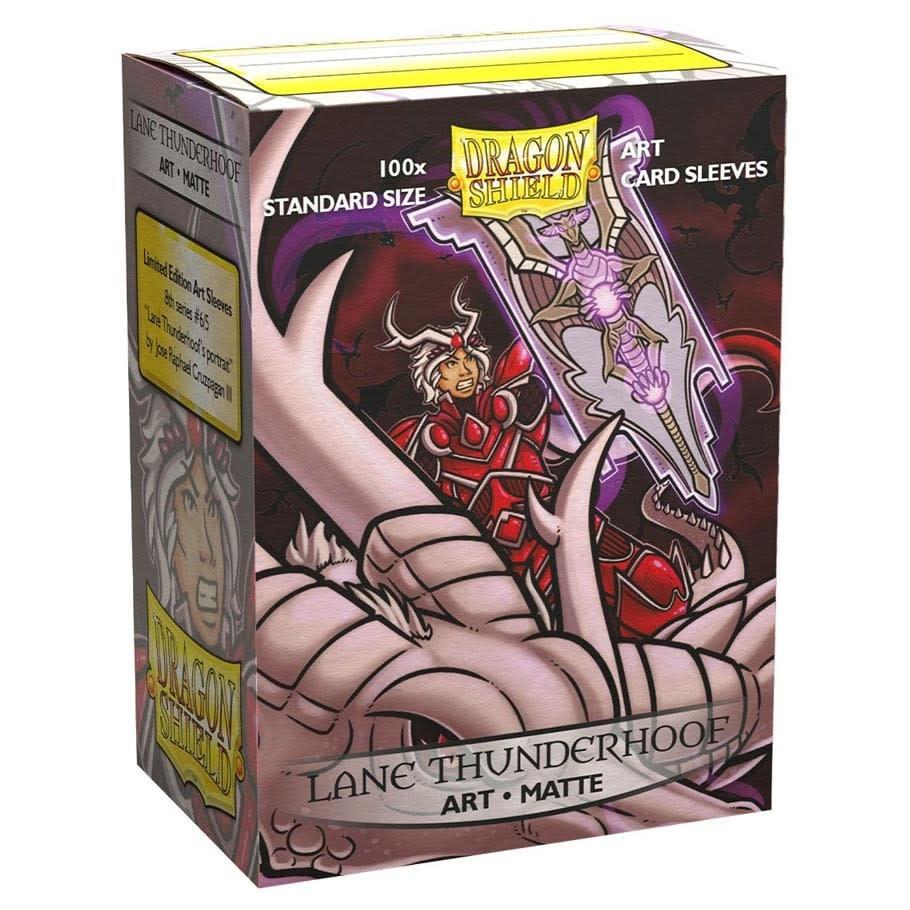 Arcane Tinmen (Dragon Shield) Dragon Shield: 100CT (Matte Art Lane Thunder)