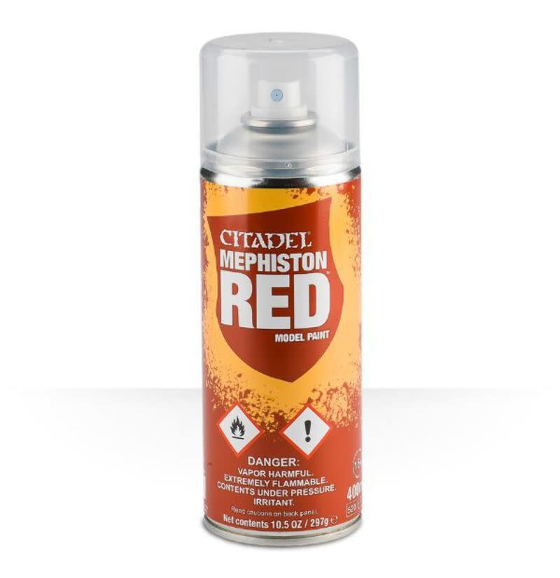 Games Workshop Citadel: Mephiston Red (Spray Paint)