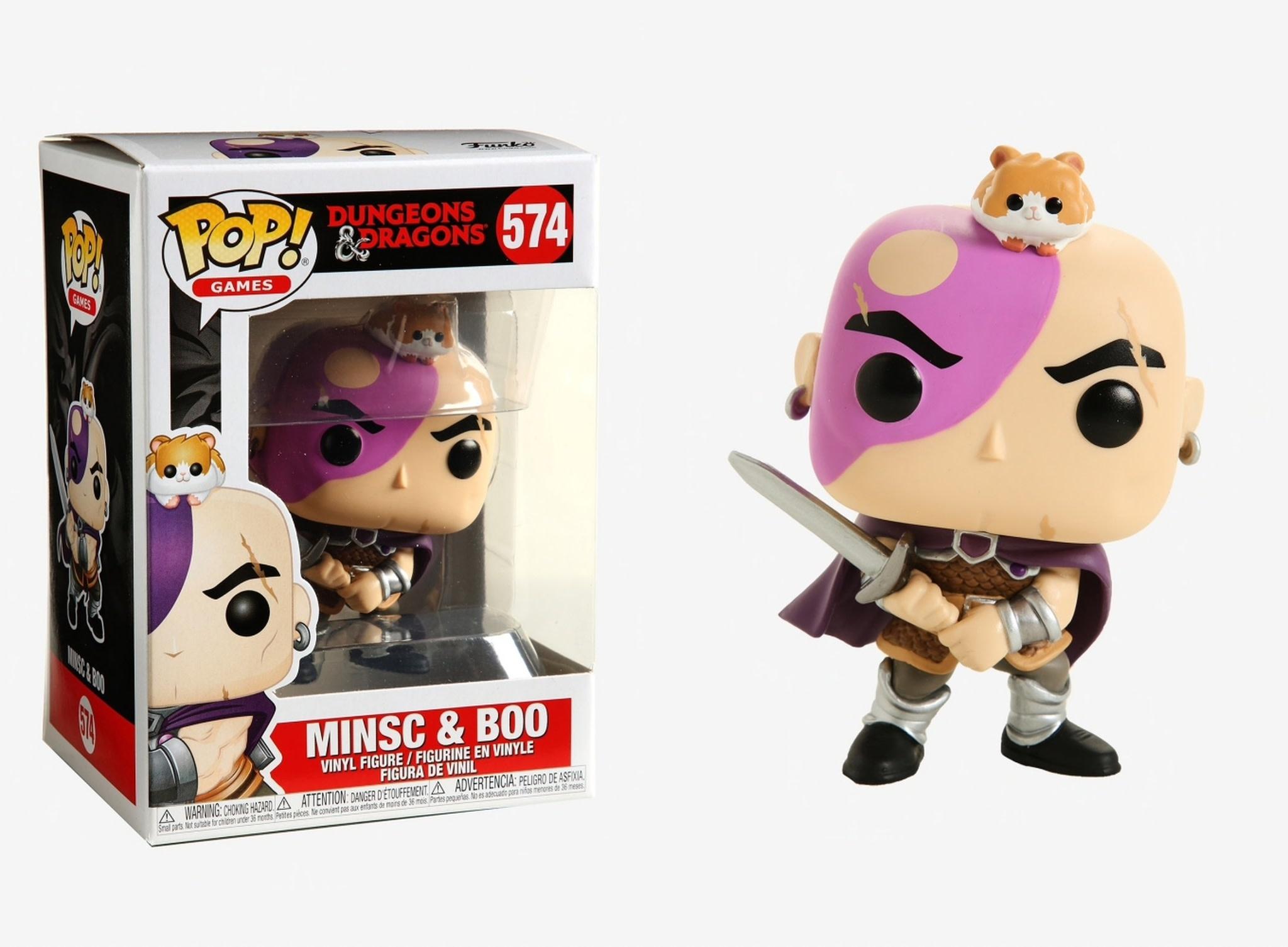 Funko Pop!: D&D (Minsc & Boo)