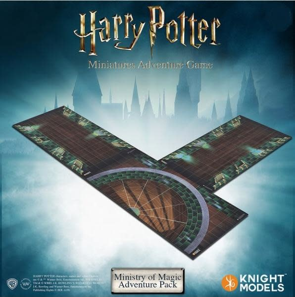 Knight Models Harry Potter Adventure Game Expansion Ministry Of Magic Tile Pack