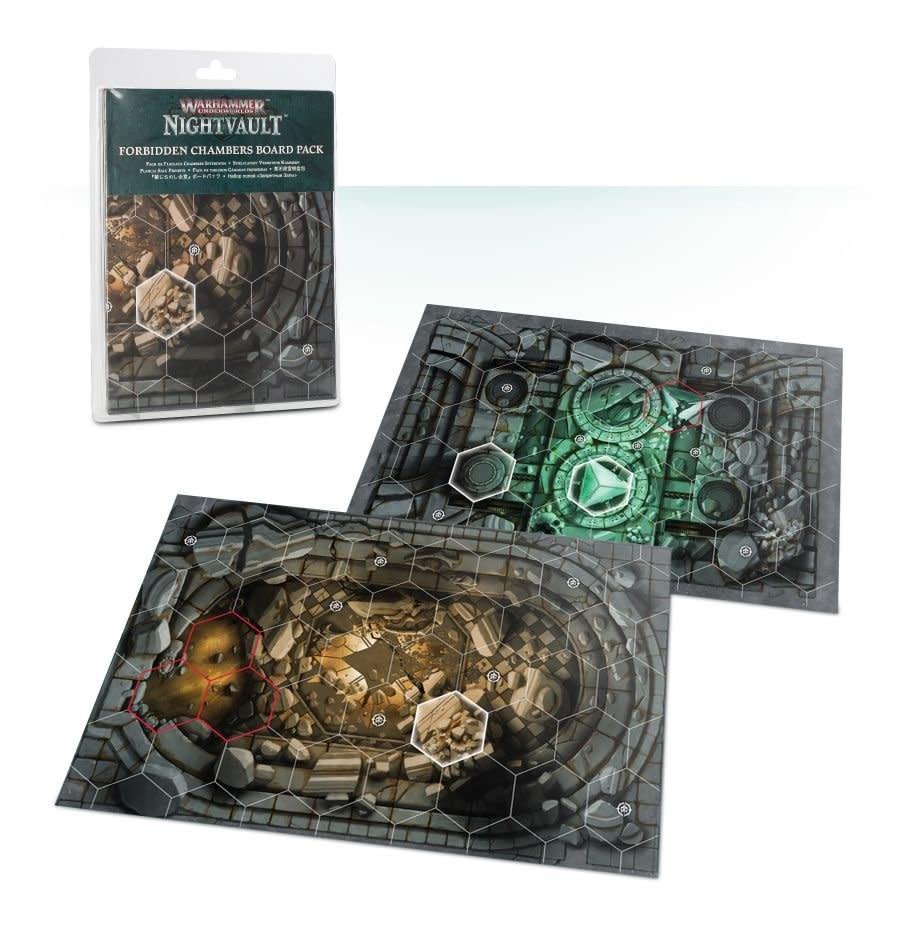Games Workshop WH Underworlds: Nightvault (Forbidden Chambers Board Pack)