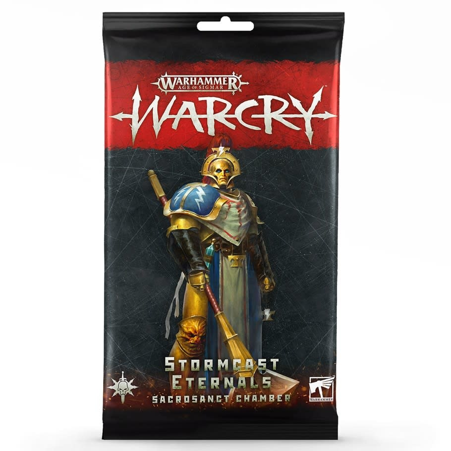GW AoS Warcry: Stormcast Eternals - Sacrosanct Chamber Cards