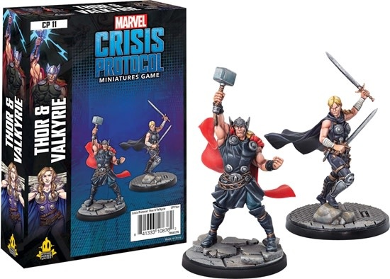 Atomic Mass Games Marvel Crisis Protocol: Thor and Valkyrie