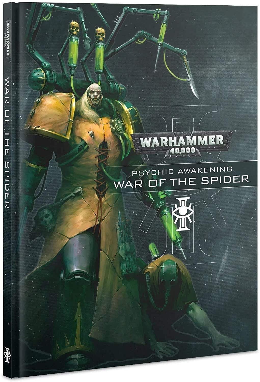 Games Workshop WH40K: Psychic Awakening Book (War of the Spider)