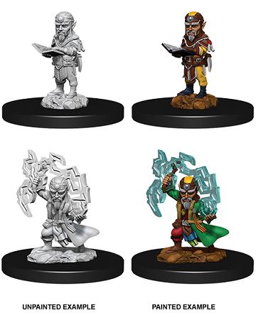 Nolzur's Marvelous Miniatures - Male Gnome Sorcerer