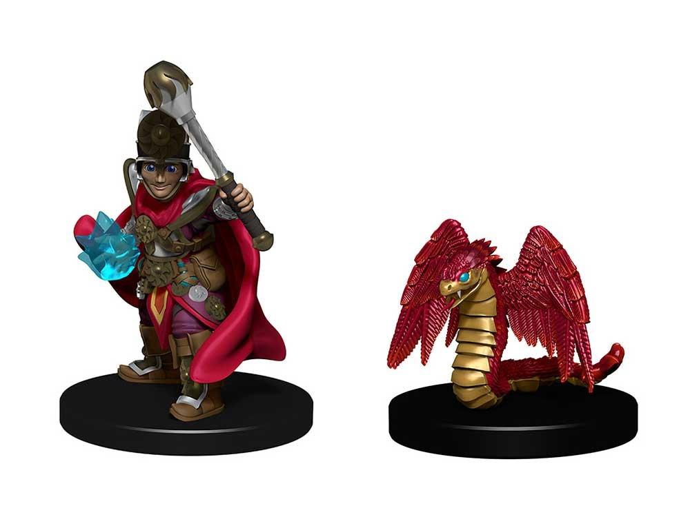 WizKids WizKids: Wardlings (Boy Cleric with Winged Snake)