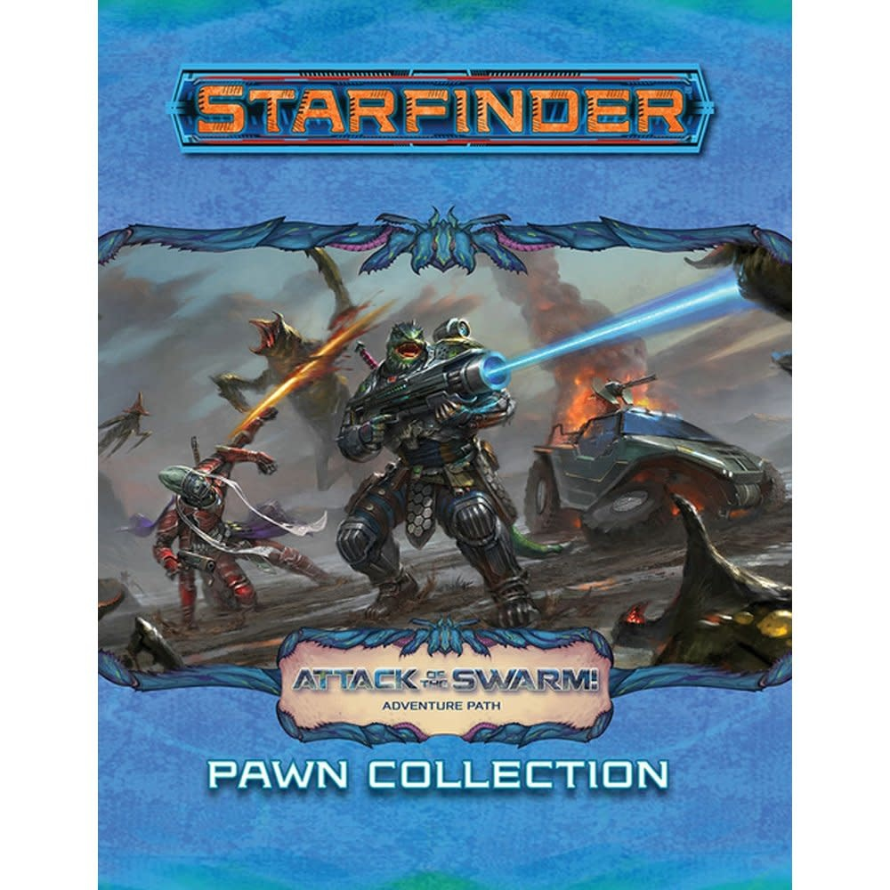 Paizo Publishing Starfinder: Attack of the Swarm Adventure Path (Pawn Collection)
