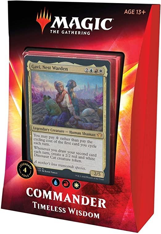 Wizards Of The Coast MTG: Ikoria LOB (Commander Deck) - Timeless Wisdom (URW-Jeskai)