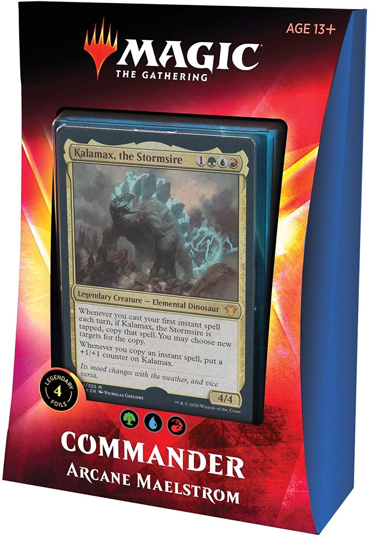 Wizards Of The Coast MTG: Ikoria LOB (Commander Deck) - Arcane Maelstrom (GUR-Temur)