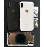 Ipx white back cover housing with logo