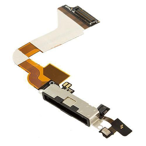 iP4 GSM Black Charging Port