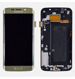 S6 Edge Gold LCD