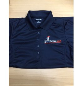 DPF  Ladies Polo Shirts (Medium) black