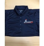 DPF Ladies Polo Shirts (Large) black