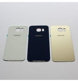 S6 Gold Back Cover